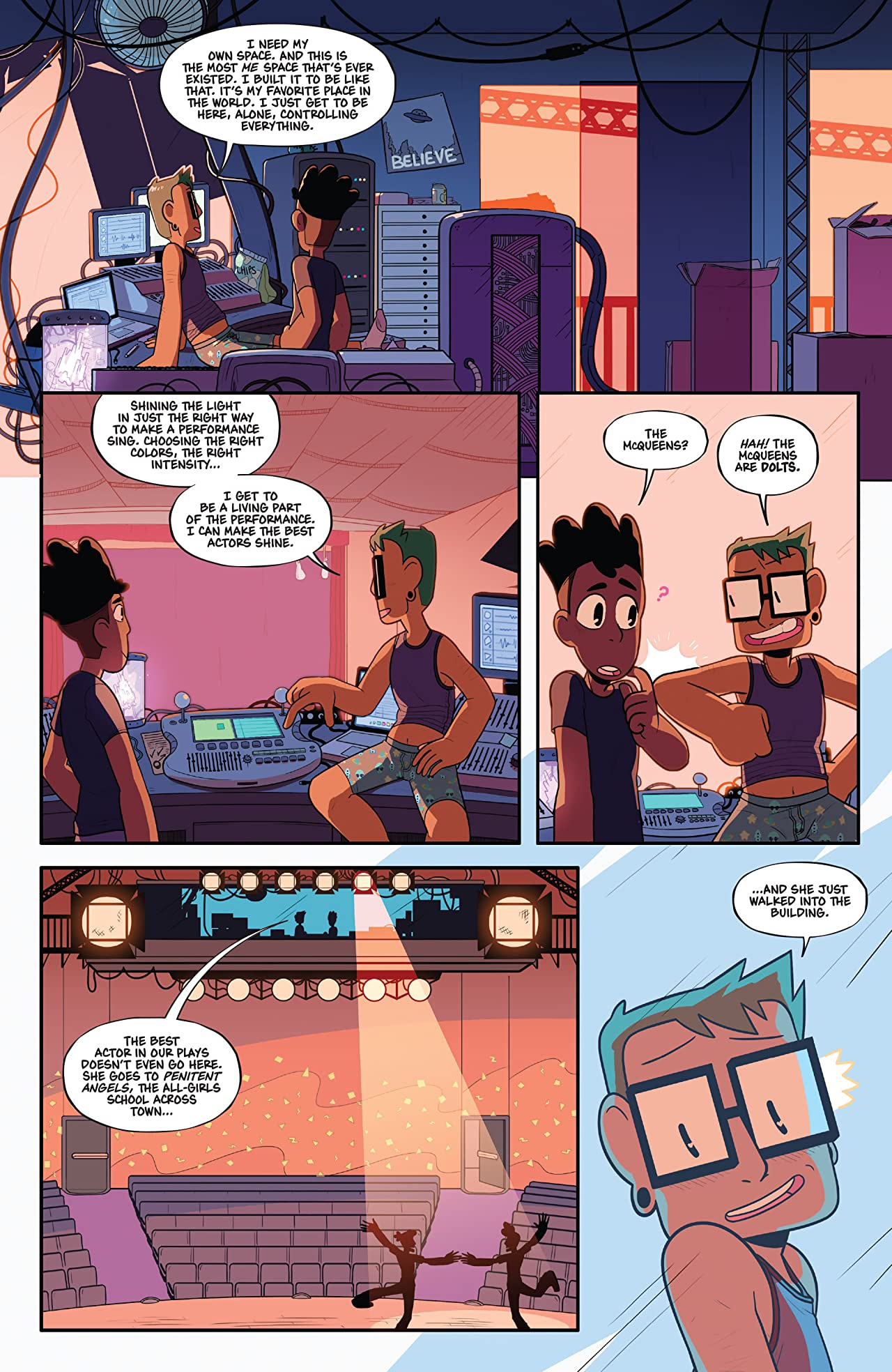 The Backstagers #3 (of 8)