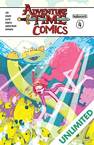 Adventure Time Comics #4