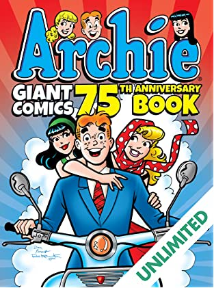 Archie Giant Comics 75th Anniversary Book!