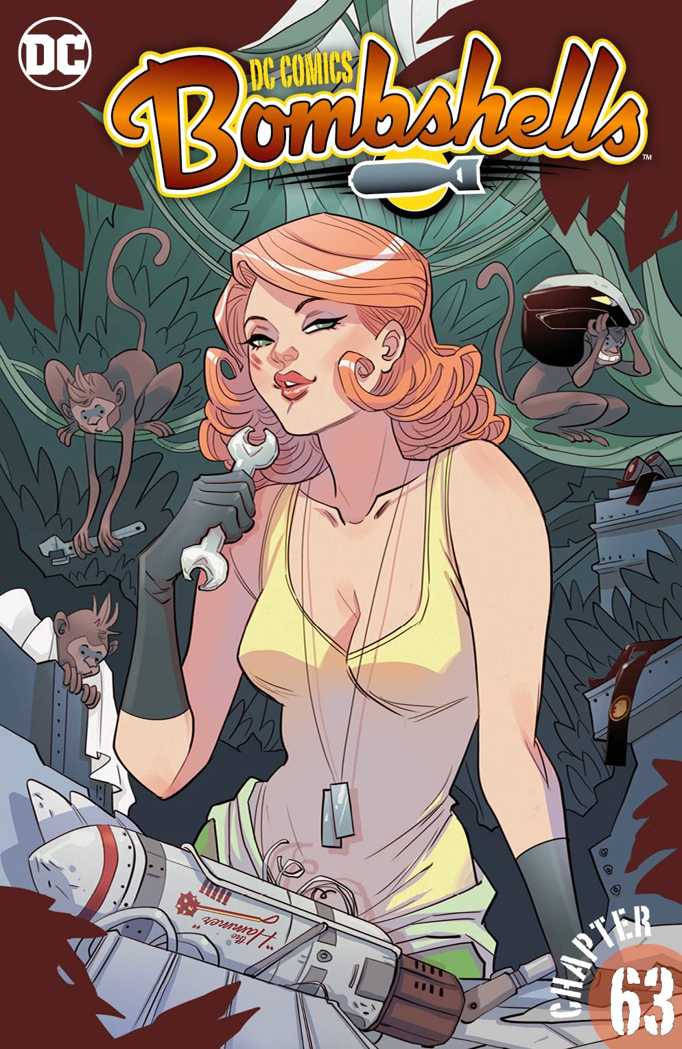 DC Comics: Bombshells (2015-2017) #63
