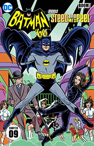 Batman '66 Meets Steed and Mrs Peel (2016-) #9