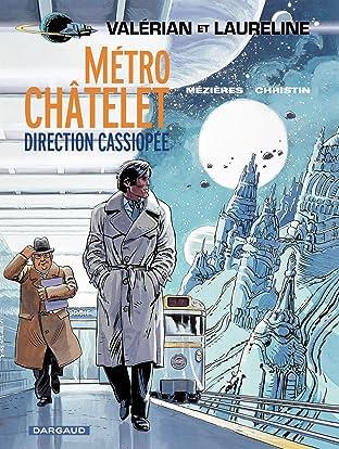 Valérian Tome 9: Métro Châtelet direction Cassiopée