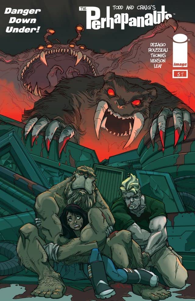 Perhapanauts: Danger Down Under #5 (of 5)
