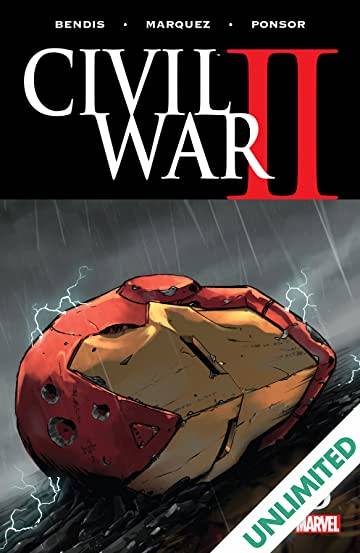 Civil War II (2016) #8 (of 8)