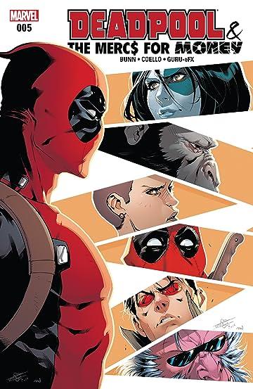 Deadpool & The Mercs For Money (2016-2017) #5