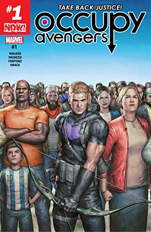 Occupy Avengers (2016-2017) No.1