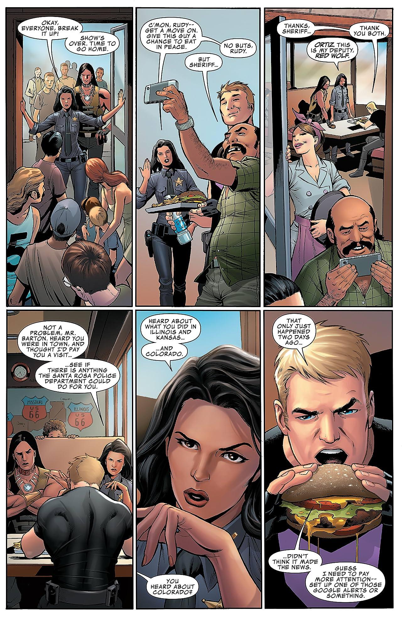 Occupy Avengers (2016-2017) #1