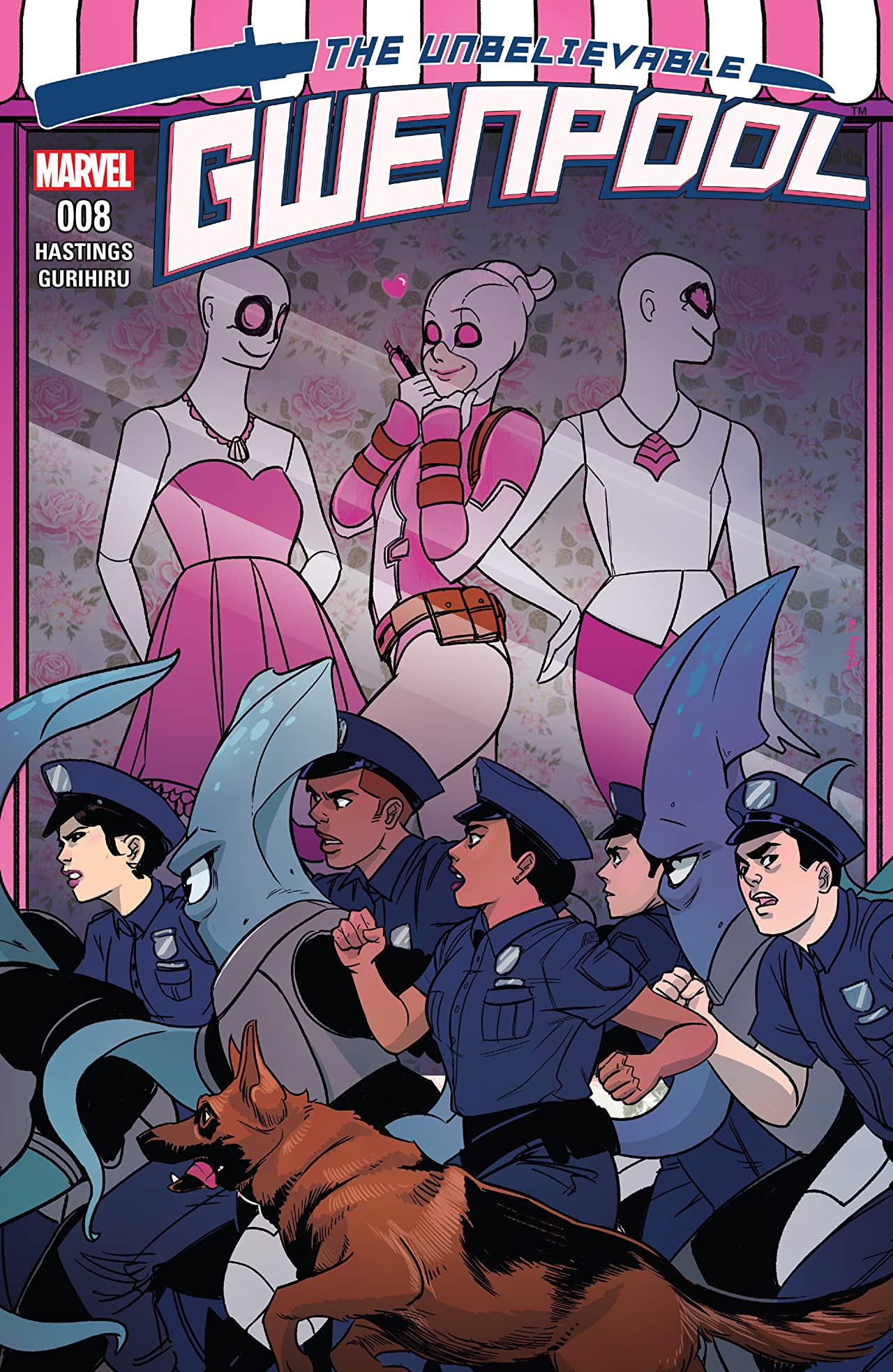 Gwenpool, The Unbelievable (2016-2018) #8