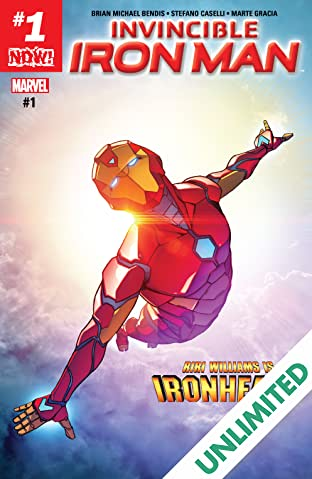 Invincible Iron Man (2016-2018) #1