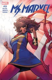 Ms. Marvel (2015-2019) #13