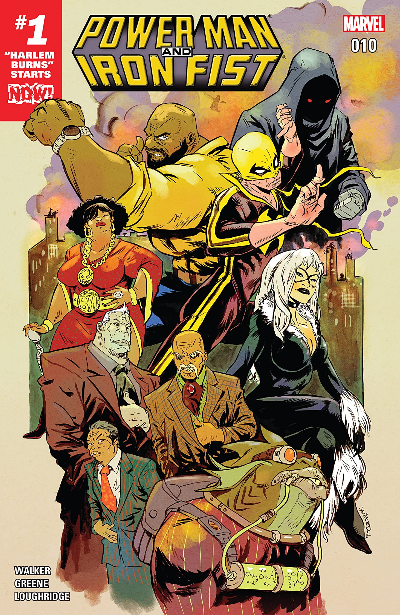 Power Man and Iron Fist (2016-2017) #10
