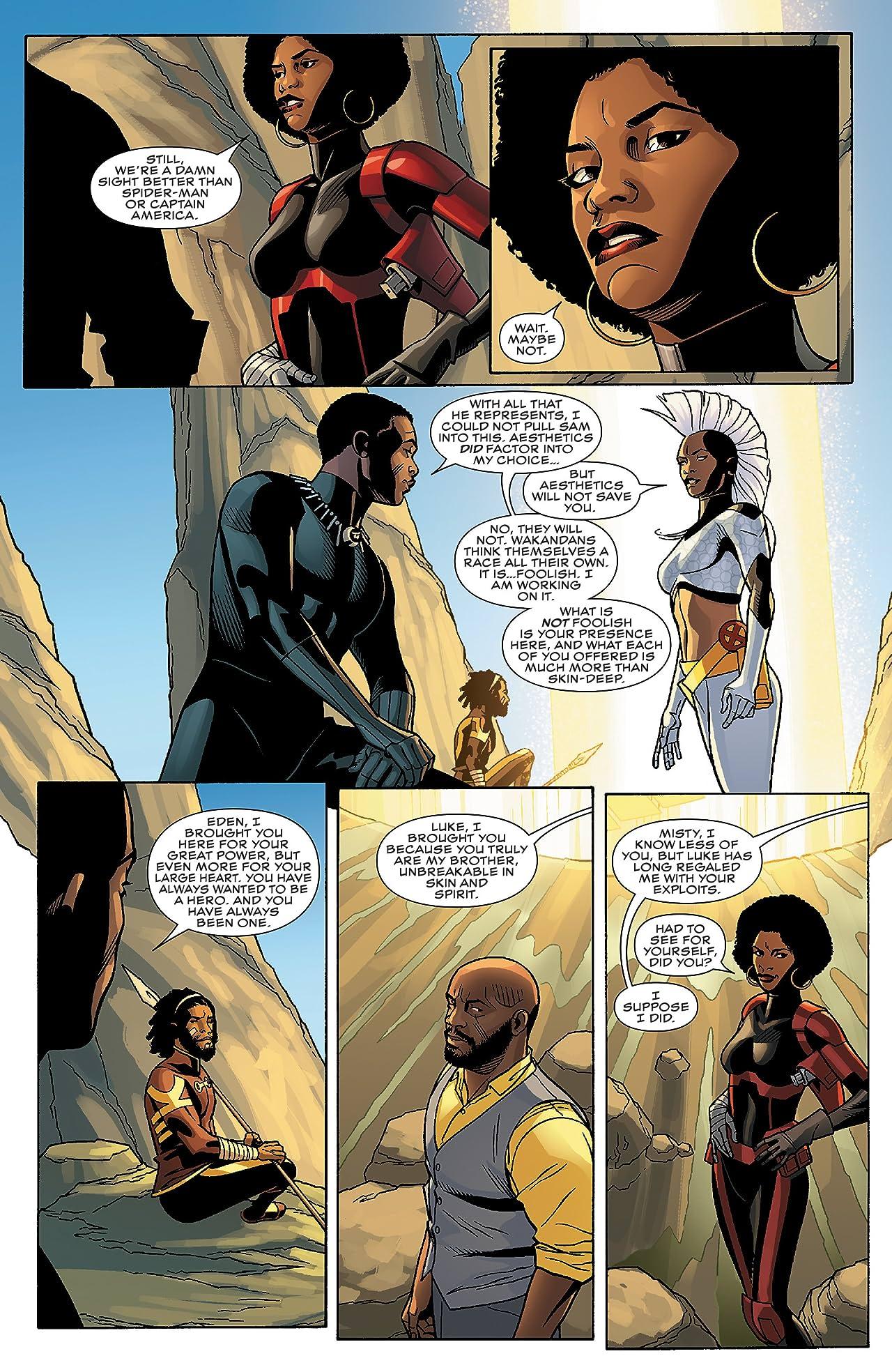 Black Panther (2016-2018) #8