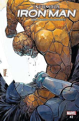 Infamous Iron Man (2016-2017) #2