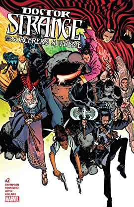 Doctor Strange and the Sorcerers Supreme (2016-2017) #2
