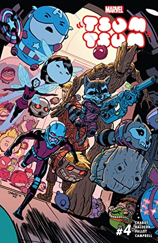 Marvel Tsum Tsum (2016) #4 (of 4)