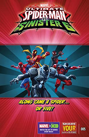 Marvel Universe Ultimate Spider-Man vs. The Sinister Six (2016-2017) #5