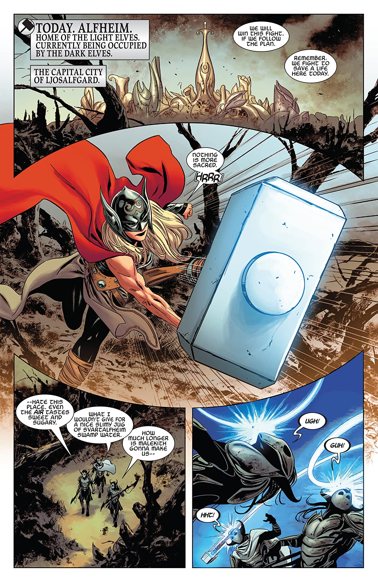 The Mighty Thor (2015-2018) #13