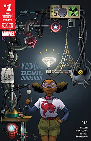 Moon Girl and Devil Dinosaur (2015-) #13