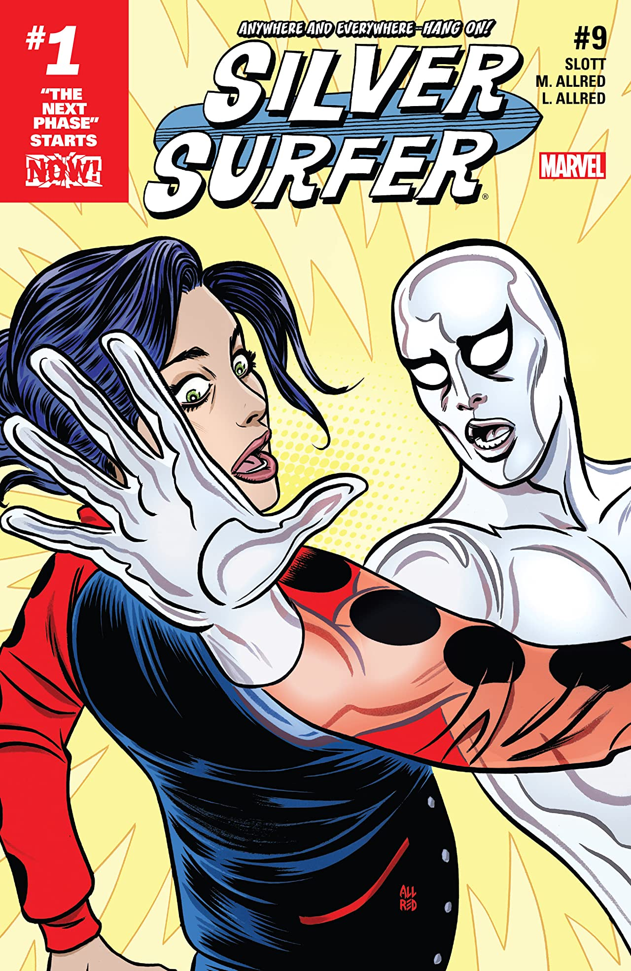 Silver Surfer (2016-2017) #9