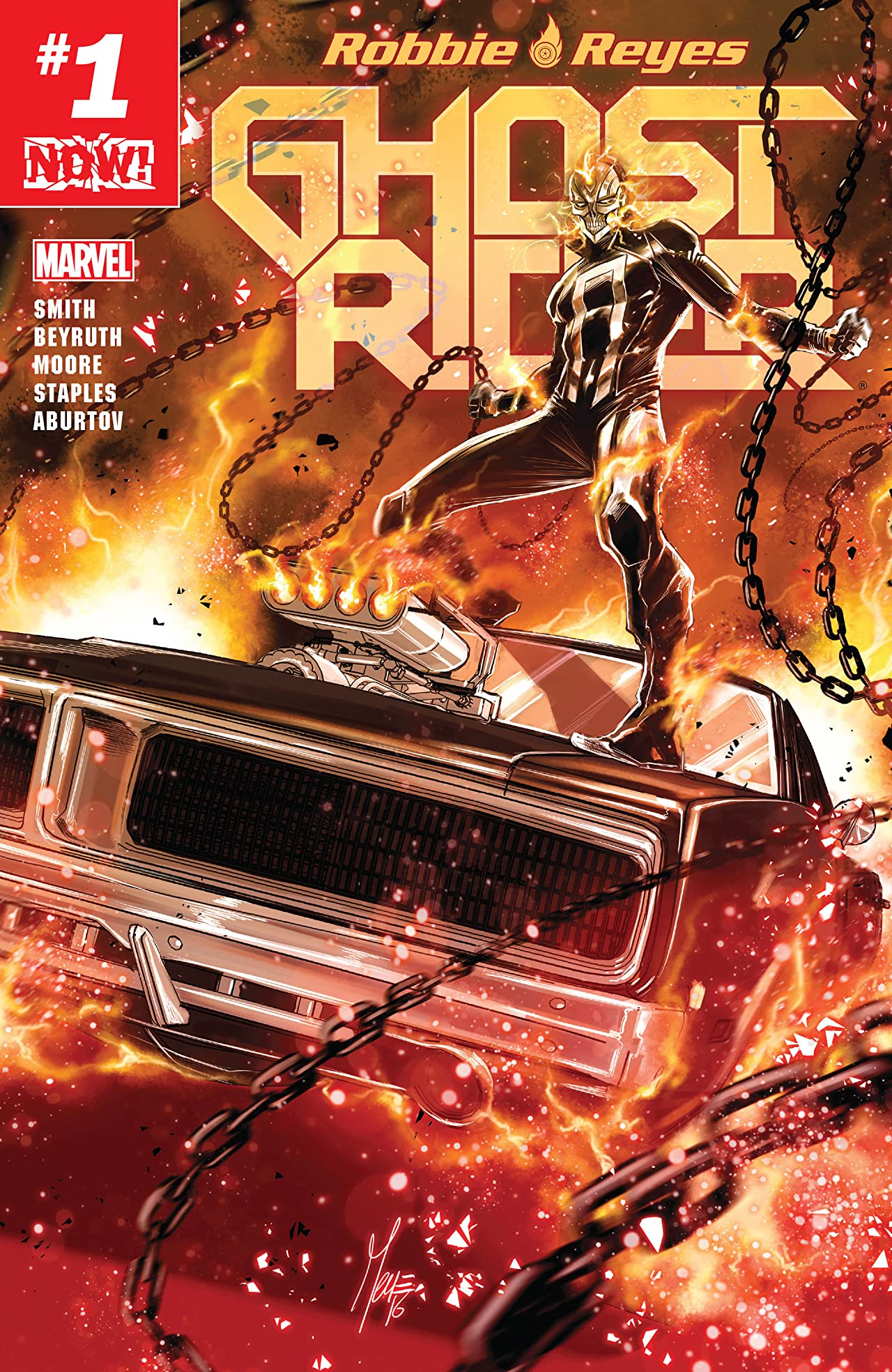Ghost Rider (2016-2017) #1