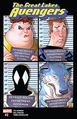 Great Lakes Avengers (2016-2017) #2
