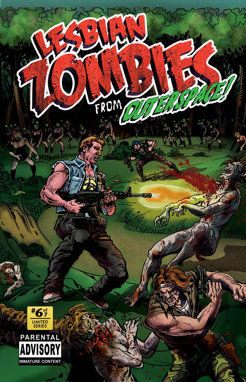 Lesbian Zombies from Outer Space #6