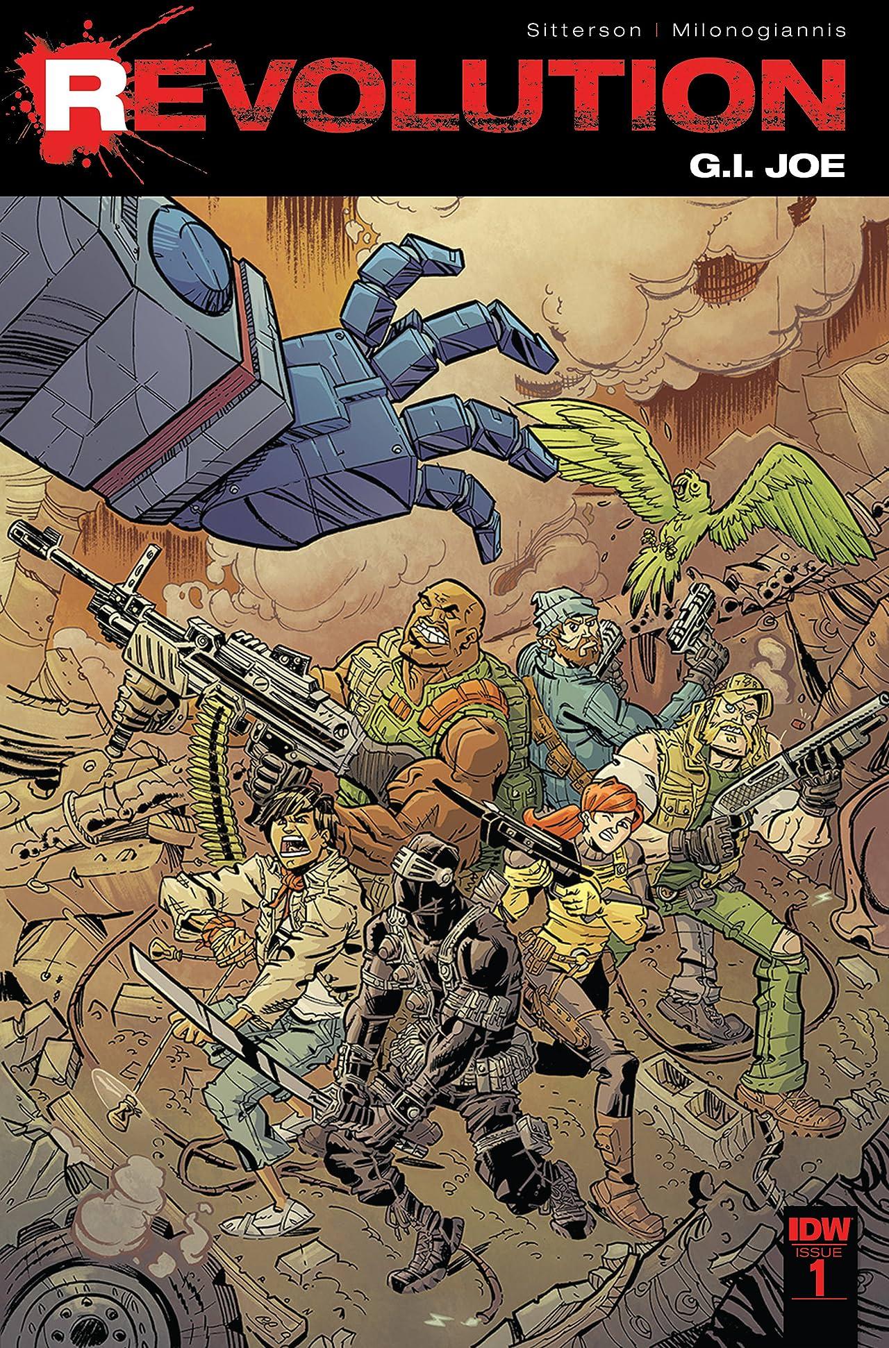 G.I. Joe: Revolution #1