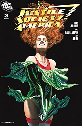 Justice Society of America (2007-2011) No.3