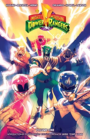 Mighty Morphin Power Rangers Tome 1