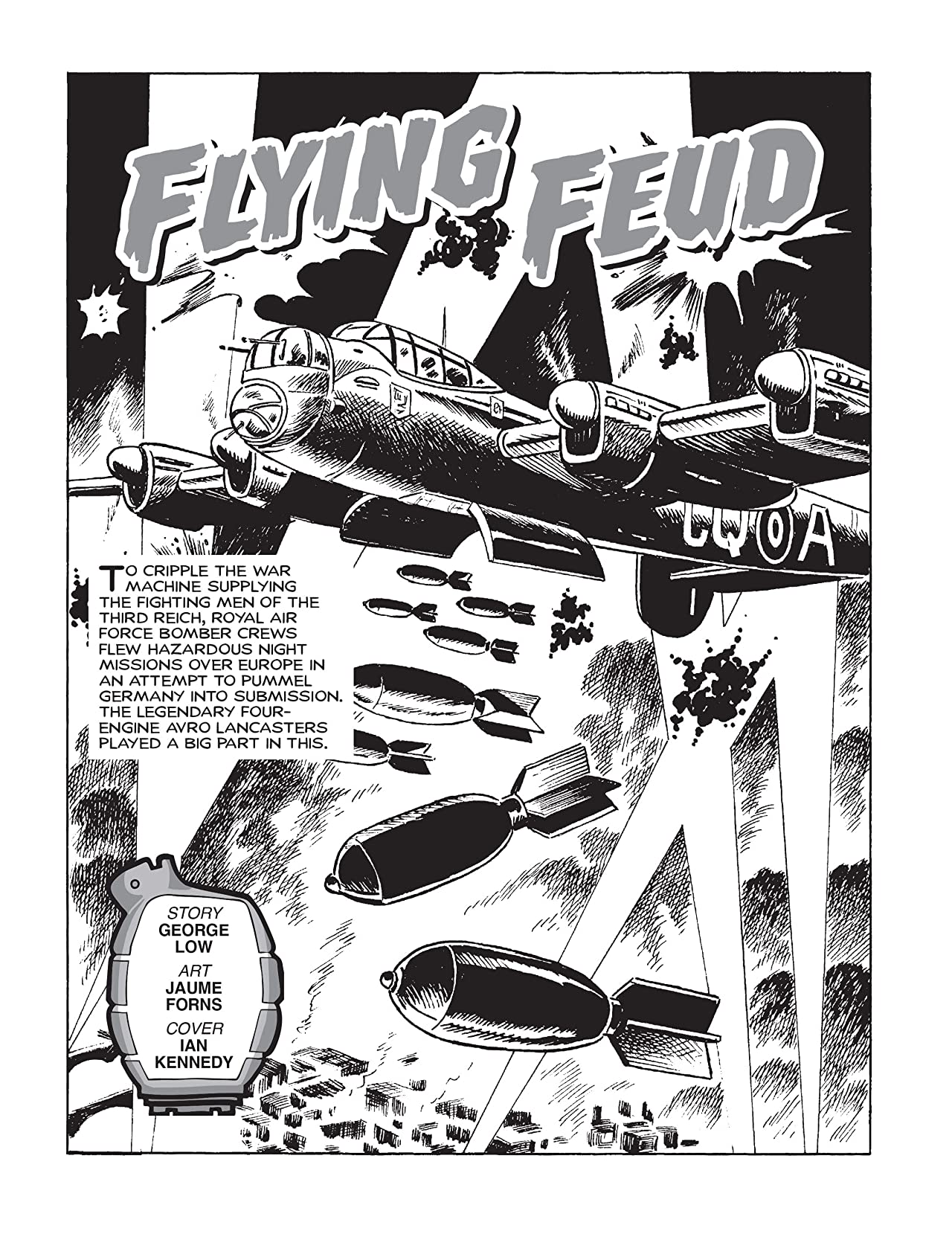 Commando #4949: Flying Feud