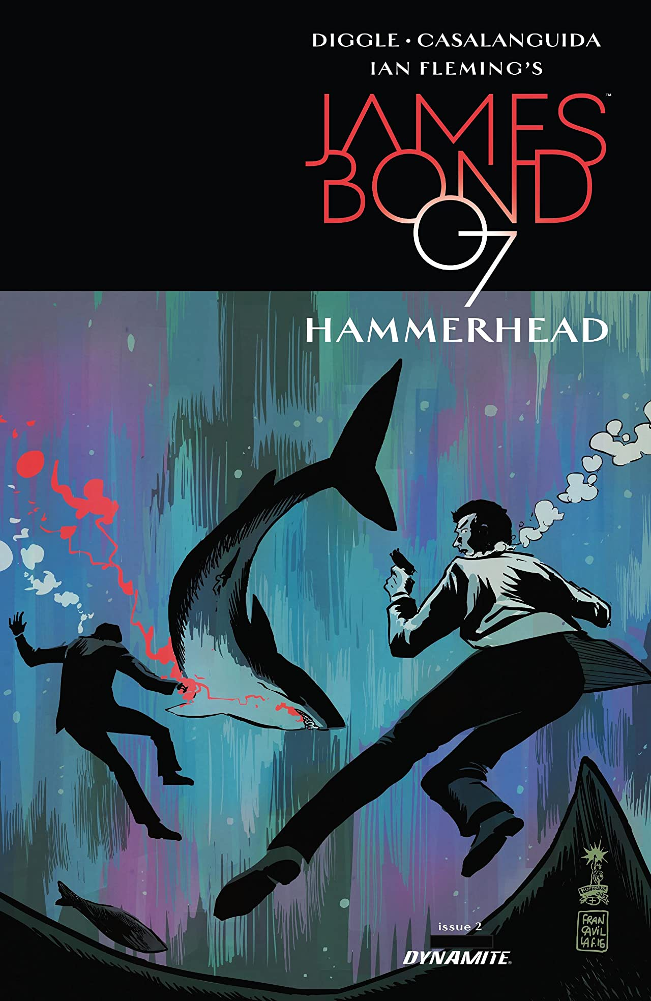 James Bond: Hammerhead (2016-2017) #2 (of 6)