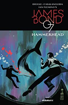 James Bond: Hammerhead (2016-2017) #2 (of 6)