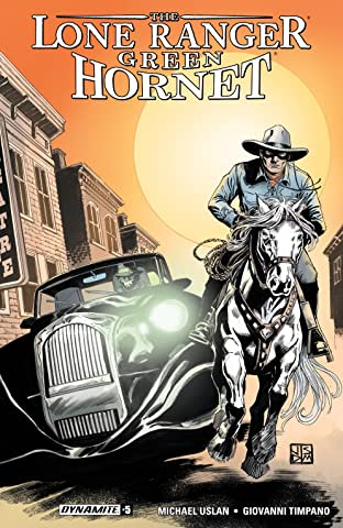 Lone Ranger/Green Hornet #5: Digital Exclusive Edition