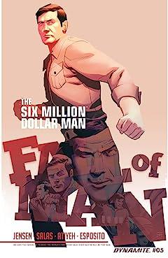 The Six Million Dollar Man: Fall of Man No.5: Digital Exclusive Edition