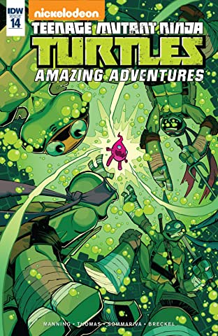 Teenage Mutant Ninja Turtles: Amazing Adventures #14