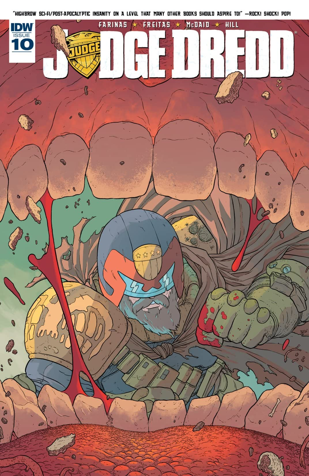 Judge Dredd (2015-2016) #10