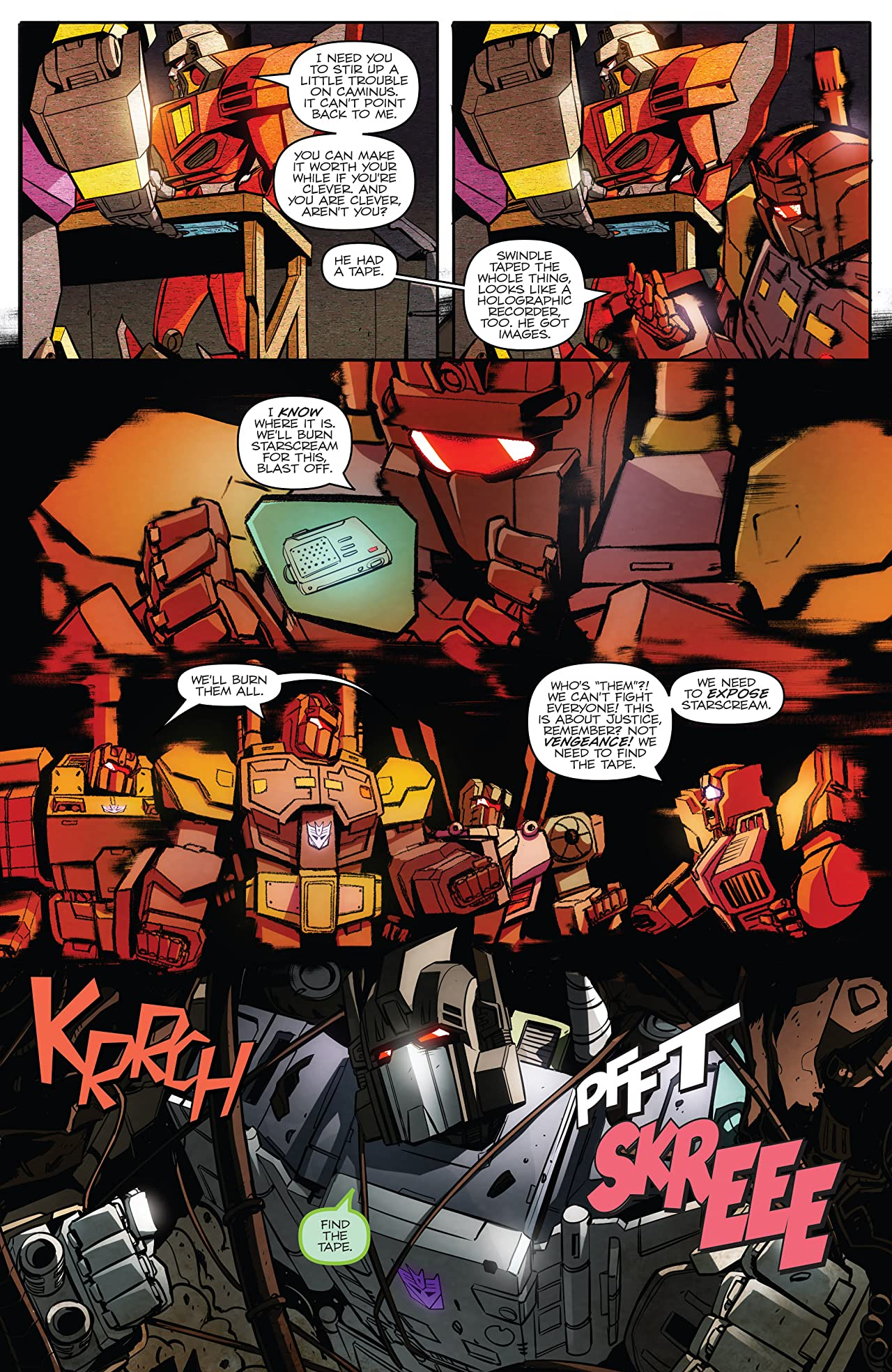 Transformers: Till All Are One #4