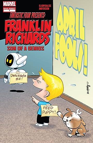 Franklin Richards: April Fools! (2009) #1