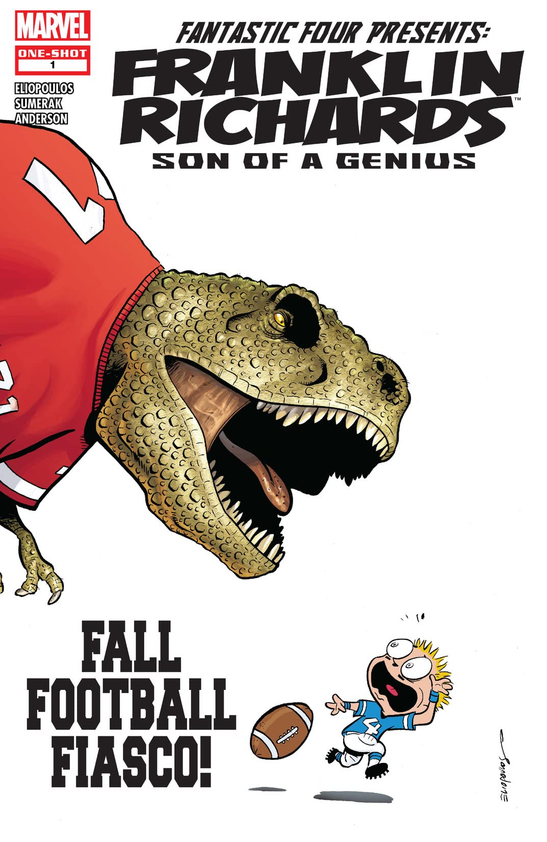 Franklin Richards: Fall Football Fiasco! (2007) #1