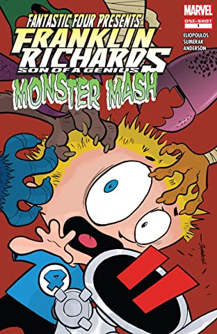 Franklin Richards: Monster Mash (2007) #1