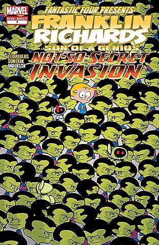 Franklin Richards: Not-So-Secret Invasion (2008) #1