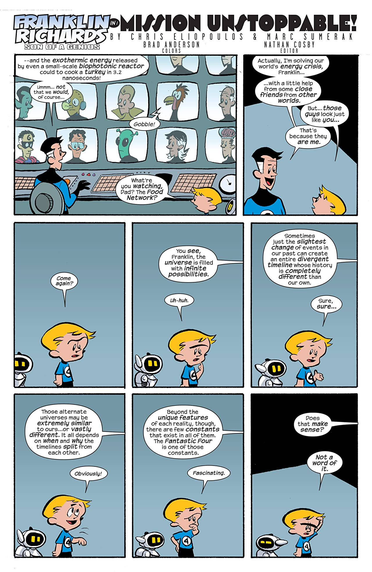 Franklin Richards: Sons of Geniuses (2008) #1