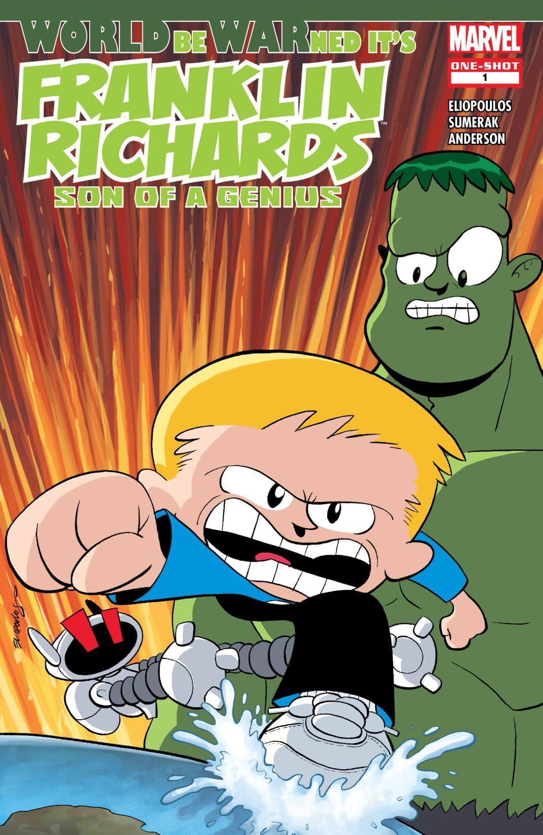 Franklin Richards: World Be Warned (2007) #1