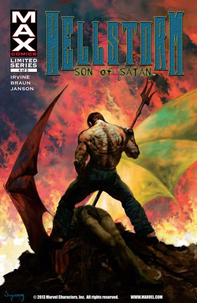 Hellstorm: Son of Satan #4 (of 5)