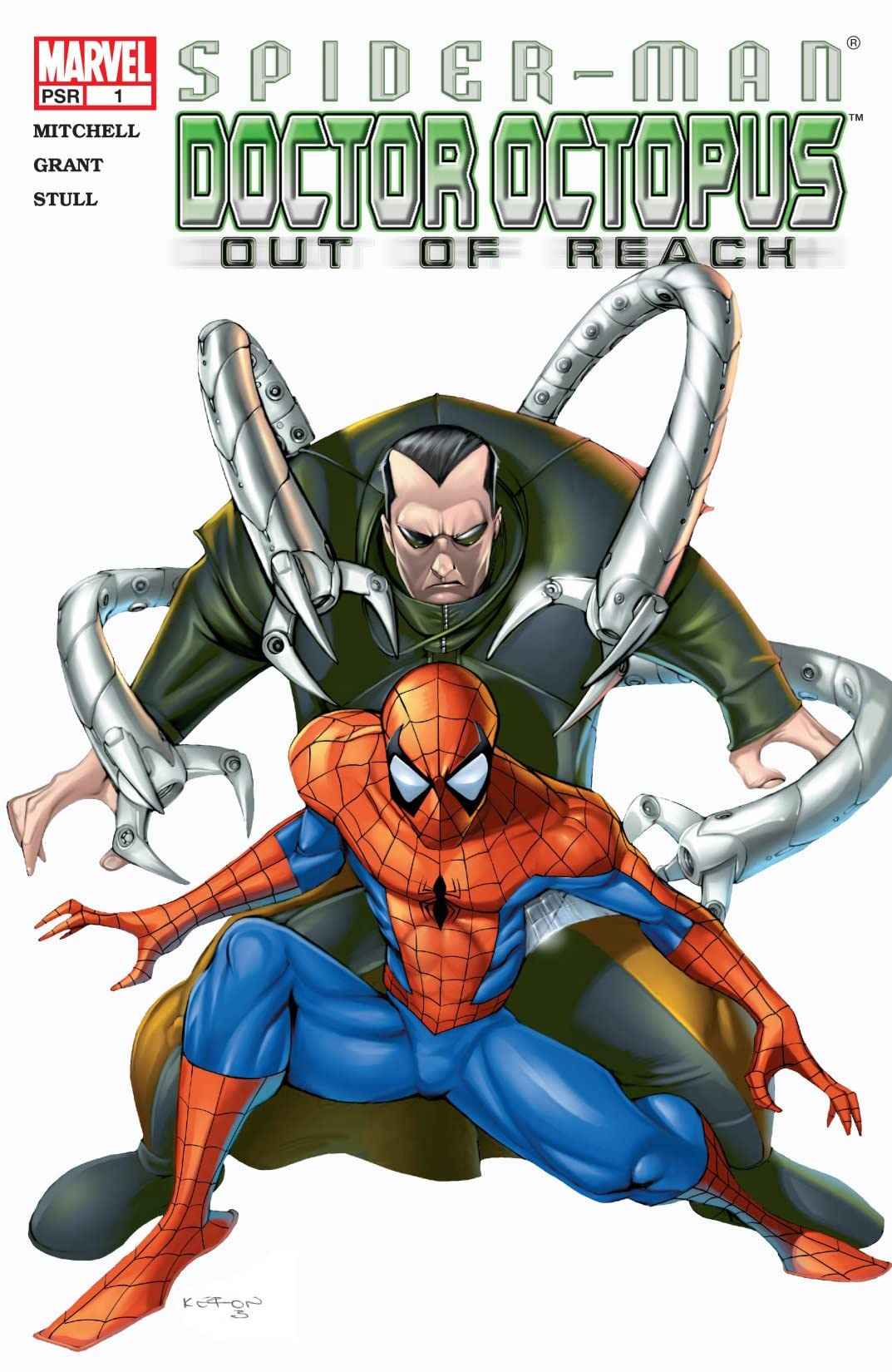 Spider-Man/Doctor Octopus: Out of Reach (2004) #1 (of 5)