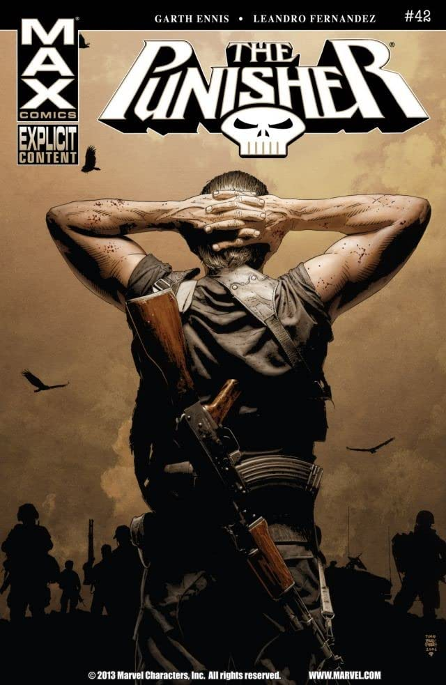 The Punisher (2004-2008) #42