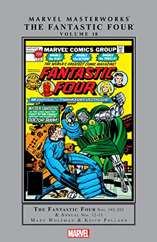 Fantastic Four Masterworks Vol. 18