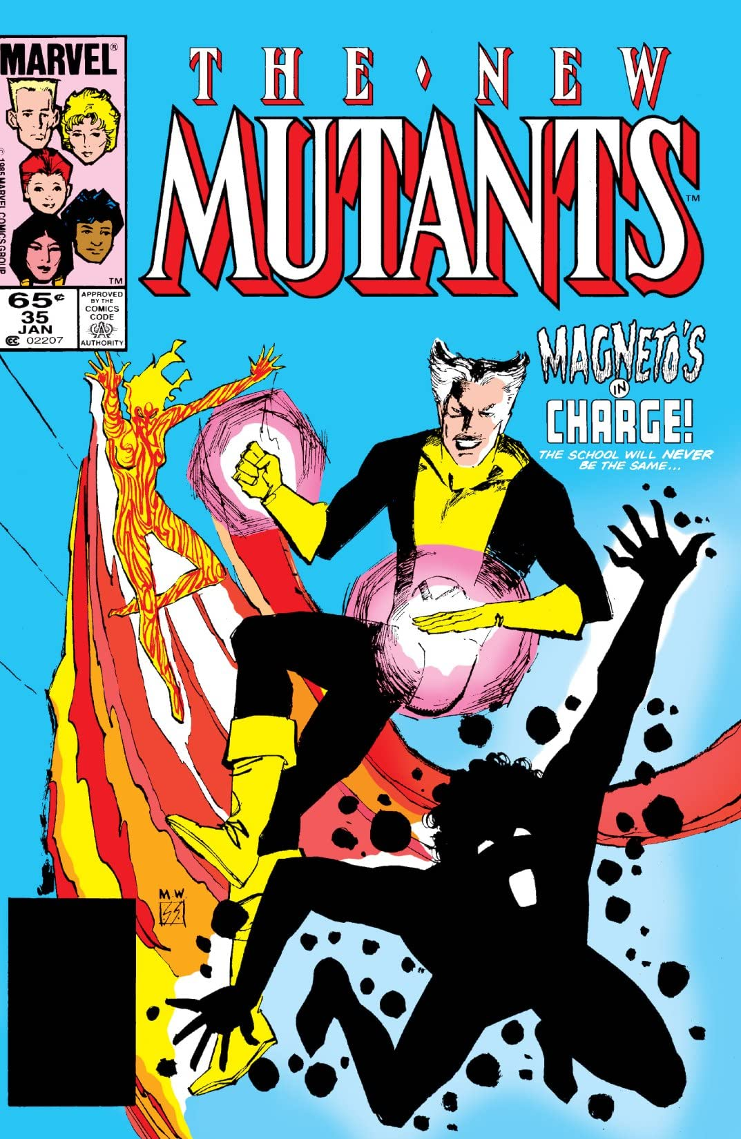 New Mutants (1983-1991) #35