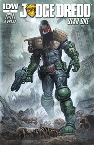 Judge Dredd: Year One #3
