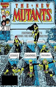 New Mutants (1983-1991) #38